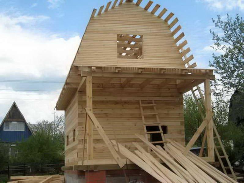 Строительство дома из сруба  без опыта строительства